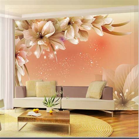 large flower wall murals large 3d wall murals photo wallpaper flower for living room tv background wall paper floral
