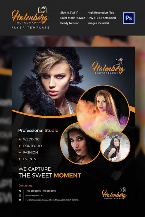 photography flyer template 41 free psd format download