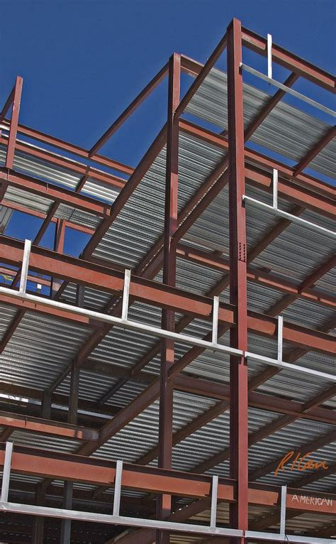 sturcture sheet metal h steel construction bolted steel structural frame of steel