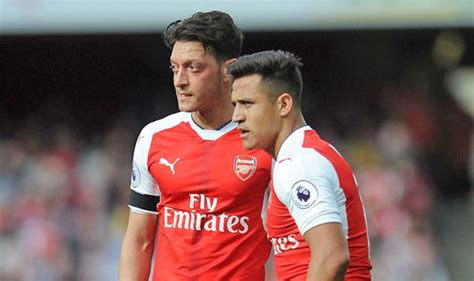 alexis sanchez and mesut ozil arsenal news ian wright reckons gunners will struggle to
