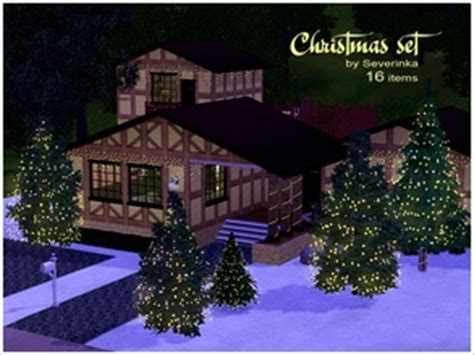sims 3 downloads christmas