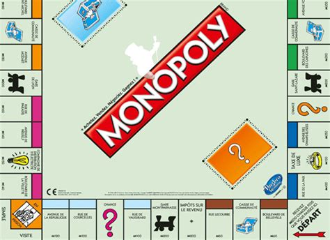 Layout Of House by Monopoly Game France With Real Money The Good Life France