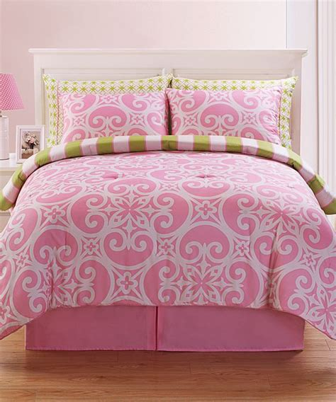 victoria classics pink kennedy comforter set classic