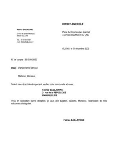 Exemple De Lettre Changement D Adresse Calam 233 O Lettre Changement D Adresse