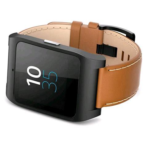 Sony Smartwatch Swr50 sony smartwatch 3 swr50 leather brown expansys australia