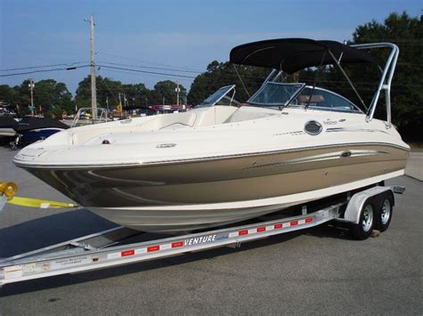 sea ray deck boat sea ray 240 sundeck deck boat 2008 for sale for 44 995