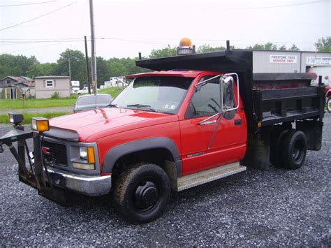 used gmc 3500 diesel trucks for sale used 2005 gmc 3500 dump truck for sale in pa 8439