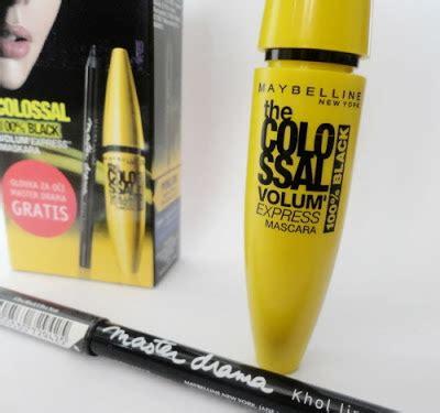 Maskara Alis Maybelline kontrol vanity recenzija maybelline colossal maskara i master drama olovka za o芻i