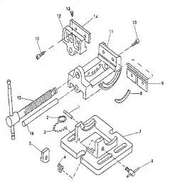 diagram of a bench vice model swivel bench vise volvoab