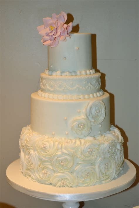 Hochzeitstorte Buttercreme by Sweet Cakes By Rosettes And Pearls Wedding Cake