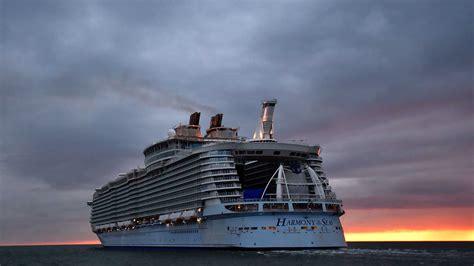 largest cruise ship harmony   seas gq india