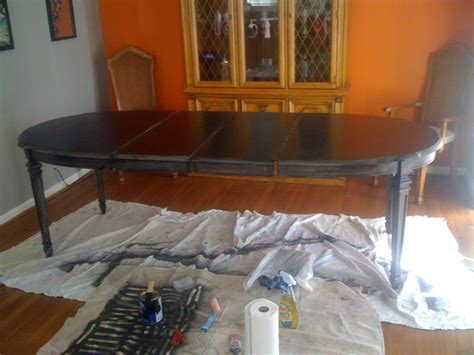 dining room table refinishing diy refinishing a dining room table