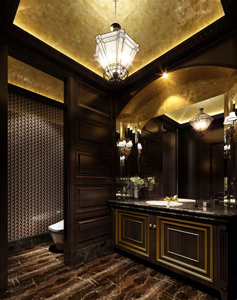 Free Architectural Design Programs luxurious dark bathroom with marble floor 3d model max