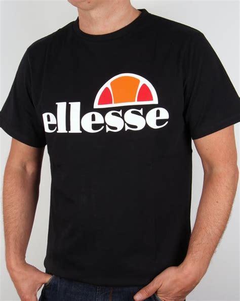 Tshirt Ellesse New One Tshirt ellesse manarola logo t shirt black mens crew neck