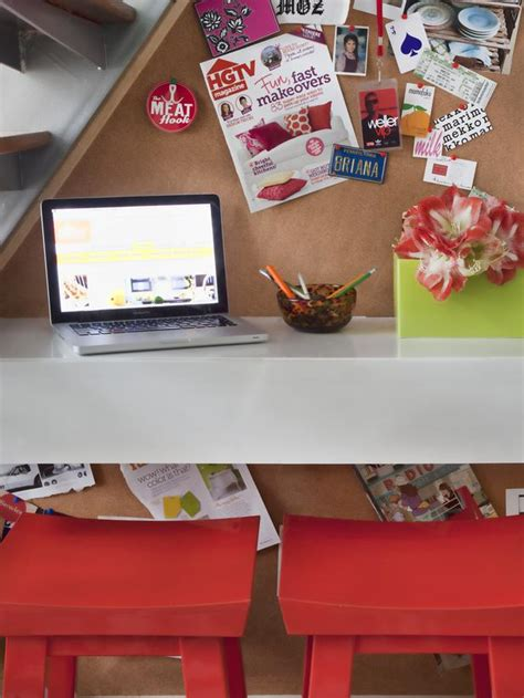 how to make a space saving floating desk easy crafts and