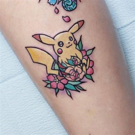 kawaii tattoo tattoos kawaii style pikachu