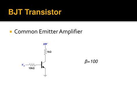 transistor bjt ppt transistor bjt power point 28 images ppt transistors