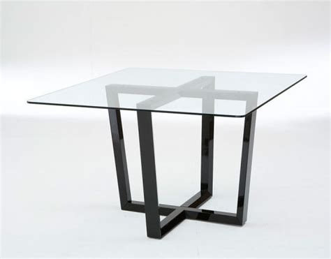 55 glass top dining tables with original bases digsdigs