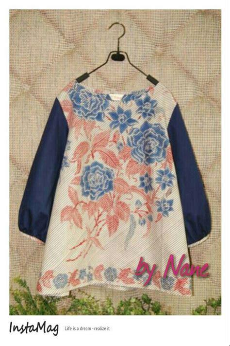 Blouse Batik Lonceng 3 encim blouse batik fashion by nane kebaya batik fashion and batik dress