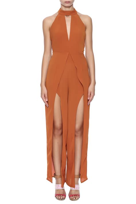 Legged Jumpsuits by Xtaren Open Leg Jumpsuit From Los Angeles By Chikas