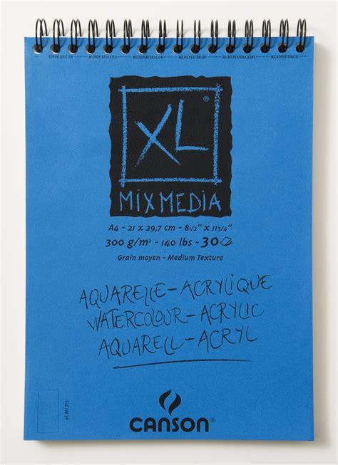 Canson Xl Mix Media A4 1 carnet croquis a4 xl mix m 233 dia canson mille et une feuilles