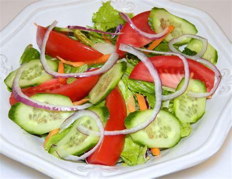 blayneskitchen fresh mixed green salad