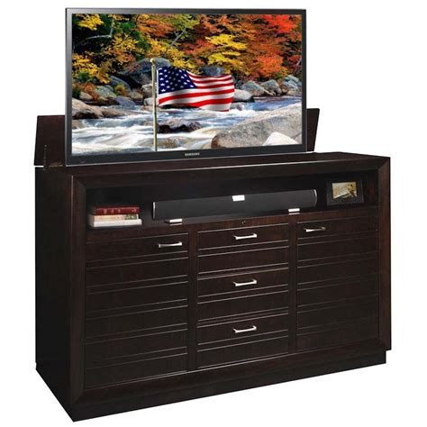 tv lift cabinet concord xl tv lift for 65 to 75 inch