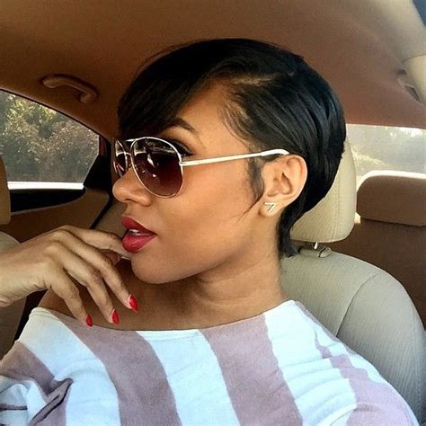 short hair cut with no relaxer 25 best ideas about short relaxed hair on pinterest