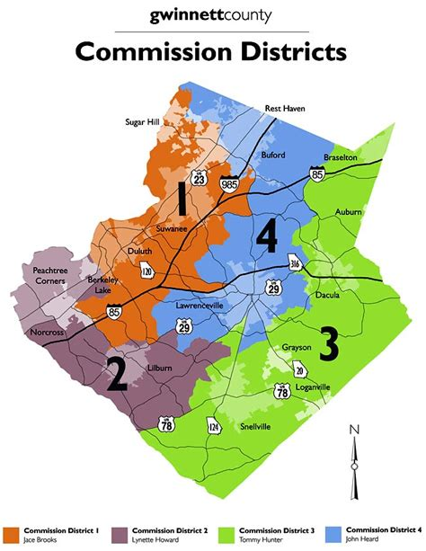 Gwinnett County Clerk Of Court Records District Map