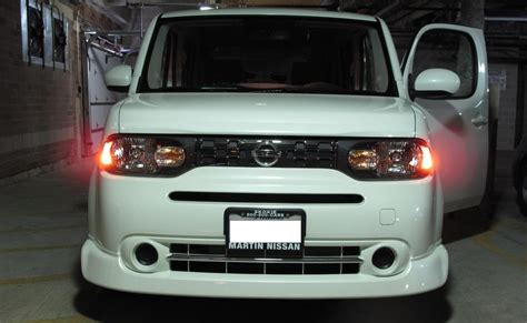 nissan cube interior lights pimped cars nissan cube with the aero kit and interior