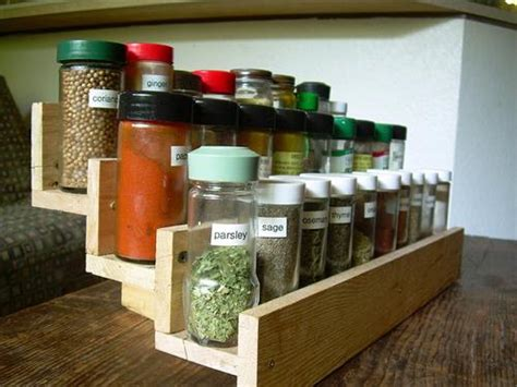 diy spice rack home depot diy pallet wood spice rack pallets designs