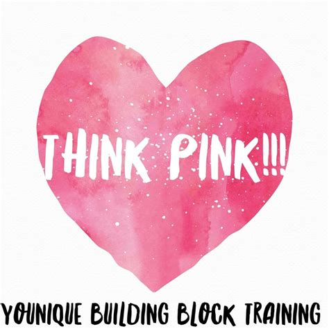 Think And Think Pink by Think Pink Building Blocks Husband