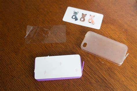 How To Make A Phone Out Of Paper - diy watercolor phone cases with silhouette printable