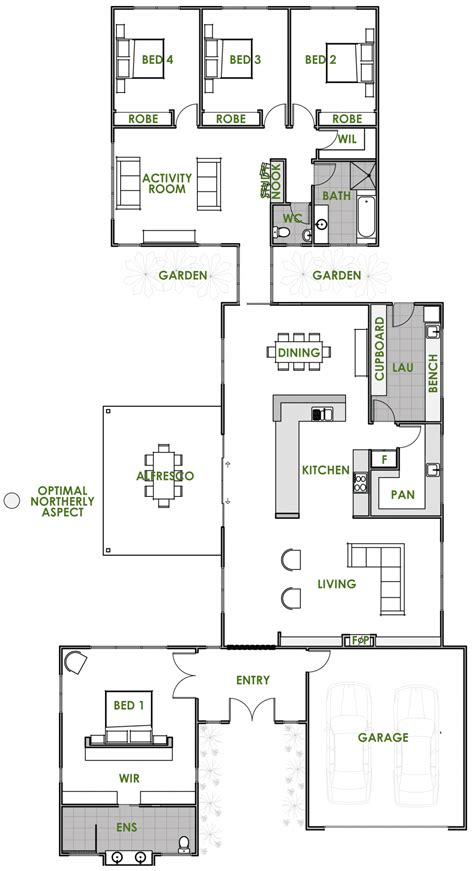 efficient home floor plans floor plan friday an energy efficient home