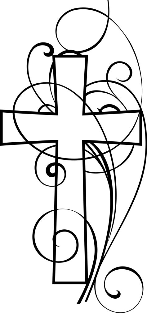 free religious clipart christian clip black and white clipart best