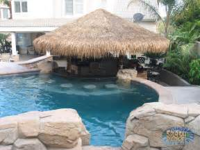 Delightful Best House Plans For Entertaining #8: Swim-up-bar-cabana-pool-splash-1024x768.jpg