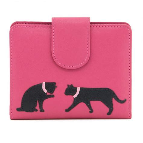 Pink Leather Cat Purse   Buy from Prezzybox.com