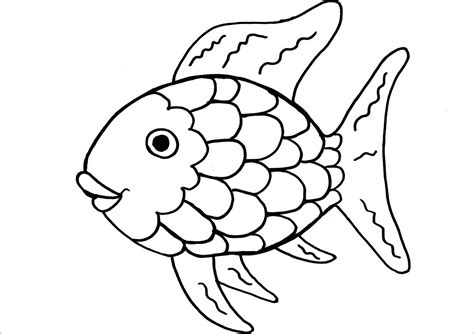 printable coloring pages rainbow fish rainbow fish coloring page printable coloring pages