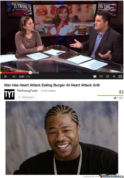 Heart Attack Meme - heart attack at heart attack grill by olip meme center