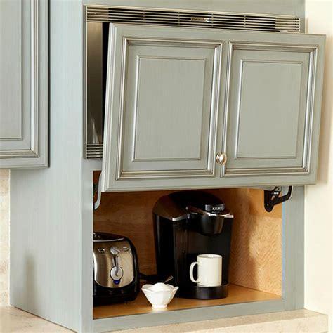 Garage Door Cabinets Options For Appliance Garages