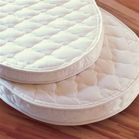 Oval Crib Mattress by Certified Organic Oval Crib And Organic Oval Bassinet