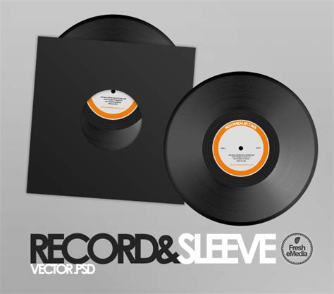 record and sleeves psd by freshemedia on deviantart