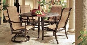 brown patio furniture repair patio sling furniture patio sling site