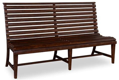 whiskey barrel bench whiskey barrel oak slat back bench from art 205249 2304 coleman furniture