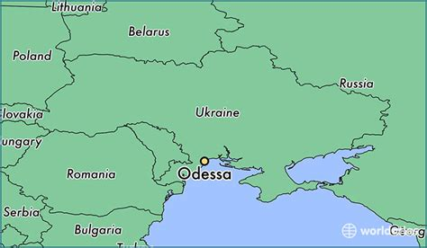 where is odessa on the map where is odessa ukraine where is odessa ukraine
