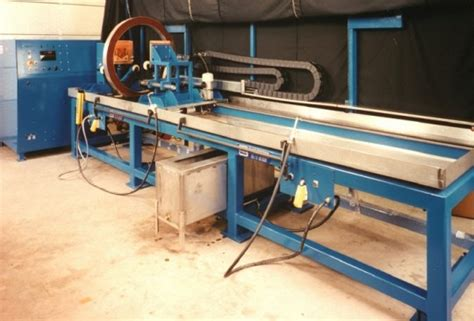 mpi bench insight ndt equipment bench unit for large aerospace components