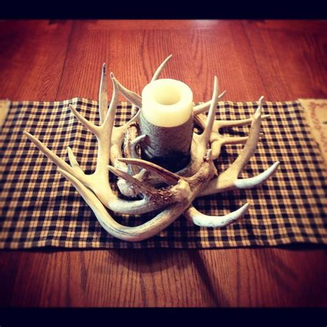 my deer antler decoration creation diy pinterest