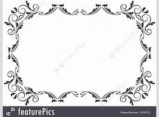 Templates: Corners And Borders - Stock Illustration ... Diploma Scroll Vector