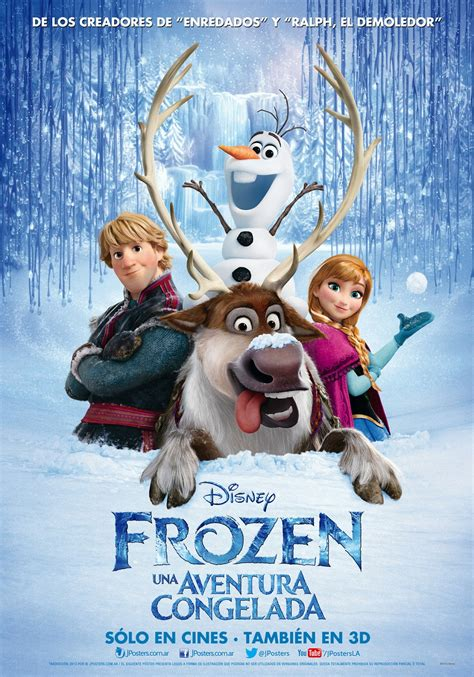 frozen film poster frozen latin american poster frozen photo 36192955
