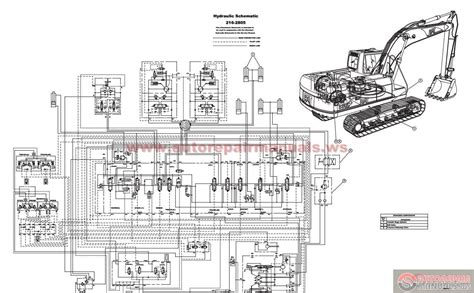 volvo excavator wiring diagram wiring diagram with